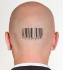 Human Head Barcode