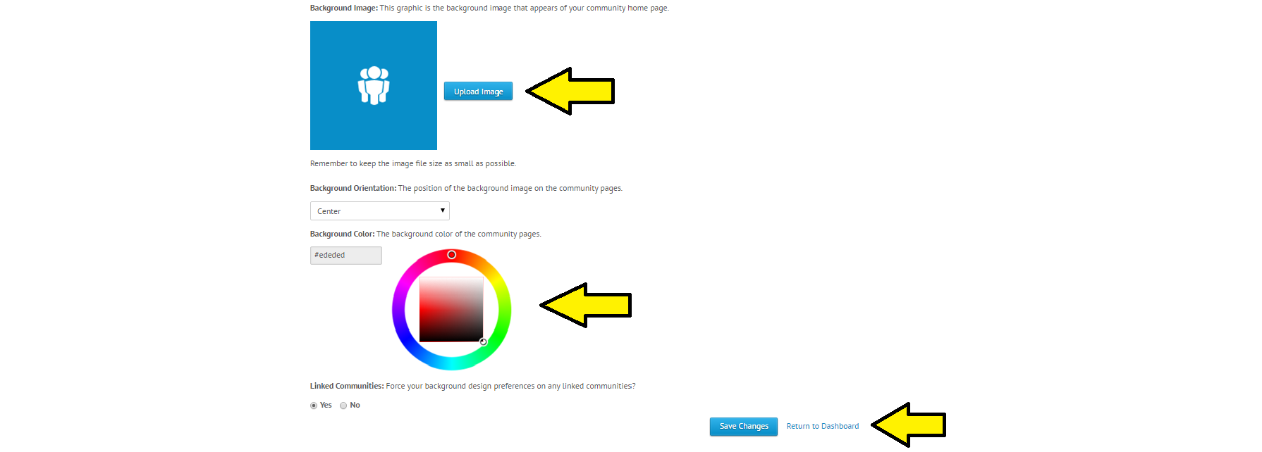 how to change page colour with sydney theme